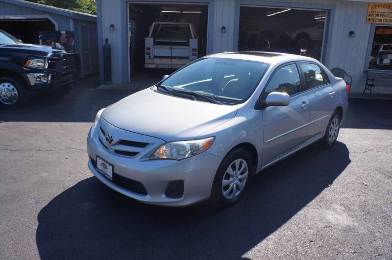 2011 Toyota Corolla for sale at Autos By Joseph Inc in Highland NY