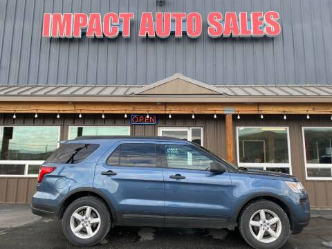 2018 Ford Explorer for sale at Impact Auto Sales in Wenatchee WA