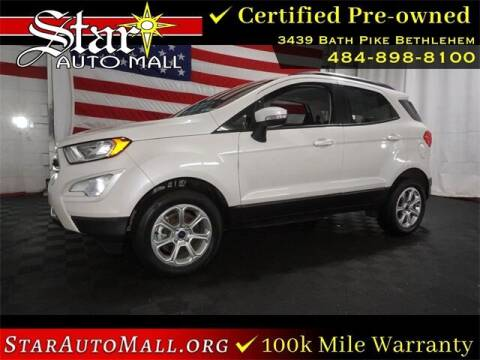 2018 Ford EcoSport for sale at STAR AUTO MALL 512 in Bethlehem PA