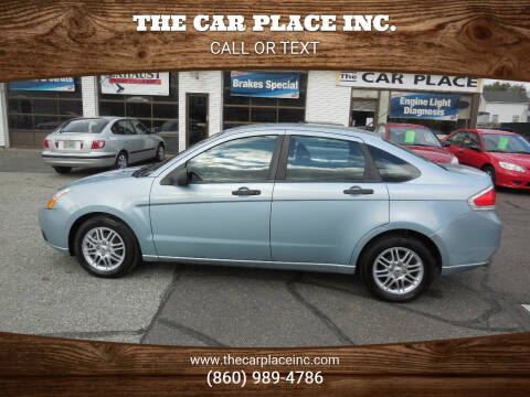 2009 Ford Focus for sale at THE CAR PLACE INC. in Somersville CT