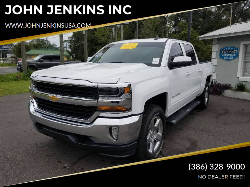 2018 Chevrolet Silverado 1500 for sale at JOHN JENKINS INC in Palatka FL
