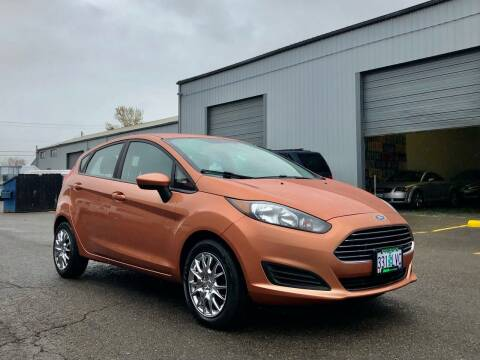 2017 Ford Fiesta for sale at DASH AUTO SALES LLC in Salem OR