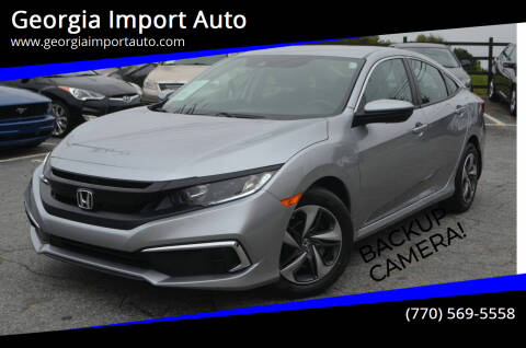 2020 Honda Civic for sale at Georgia Import Auto in Alpharetta GA