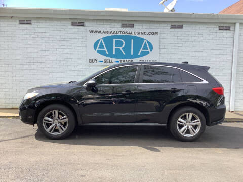 2013 Acura RDX for sale at ARIA  AUTO  SALES in Raleigh NC