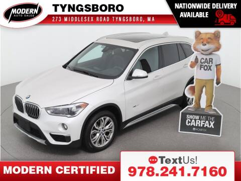 2018 BMW X1 for sale at Modern Auto Sales in Tyngsboro MA