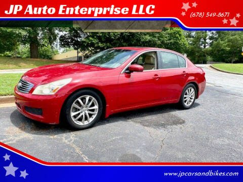 2007 Infiniti G35 for sale at JP Auto Enterprise LLC in Duluth GA