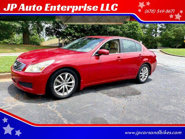 2007 Infiniti G35 for sale at JP Auto Enterprise LLC in Duluth GA