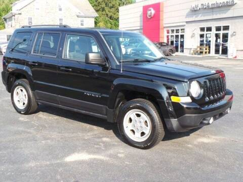 2014 Jeep Patriot for sale at Jeff D'Ambrosio Auto Group in Downingtown PA