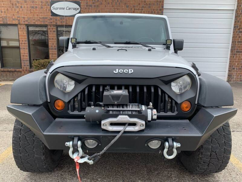 2008 Jeep Wrangler Unlimited for sale at Supreme Carriage in Wauconda IL