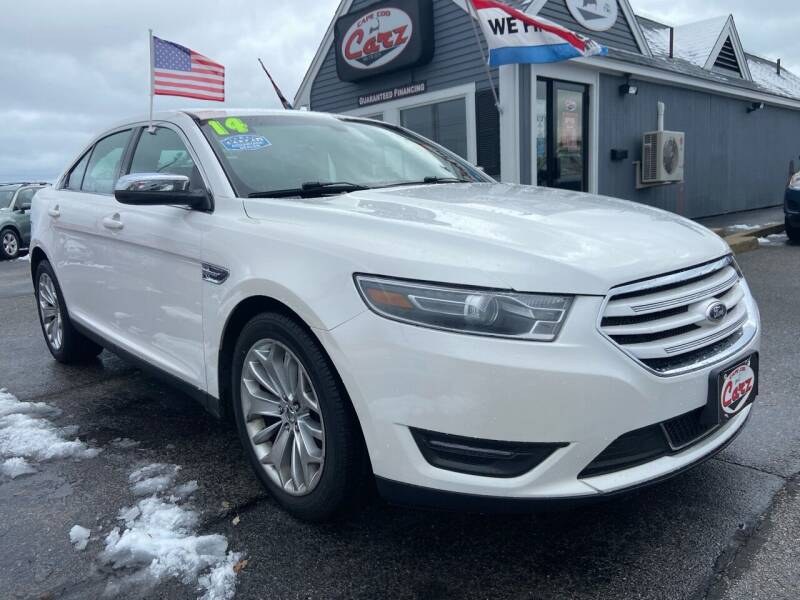 2014 Ford Taurus for sale at Cape Cod Carz in Hyannis MA