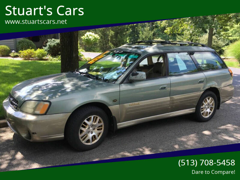2003 Subaru Outback for sale at Stuart's Cars in Cincinnati OH