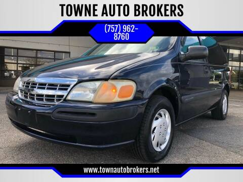 2003 Chevrolet Venture for sale at TOWNE AUTO BROKERS in Virginia Beach VA