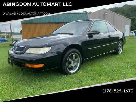 1999 Acura CL for sale at ABINGDON AUTOMART LLC in Abingdon VA