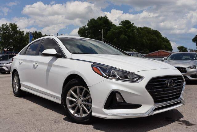 2018 Hyundai Sonata for sale at OCEAN AUTO SALES in Miami FL
