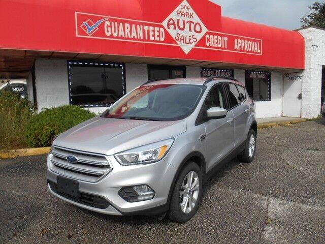 2018 Ford Escape for sale at Oak Park Auto Sales in Oak Park MI