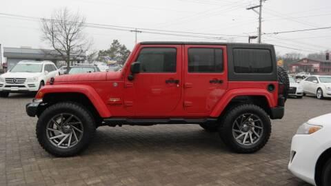 2015 Jeep Wrangler Unlimited for sale at Cars-KC LLC in Overland Park KS