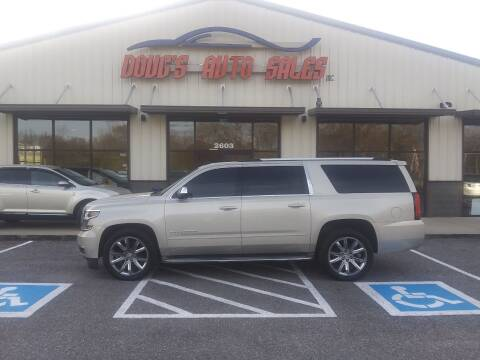 2015 Chevrolet Suburban for sale at DOUG'S AUTO SALES INC in Pleasant View TN