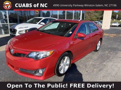 2014 Toyota Camry for sale at Credit Union Auto Buying Service in Winston Salem NC