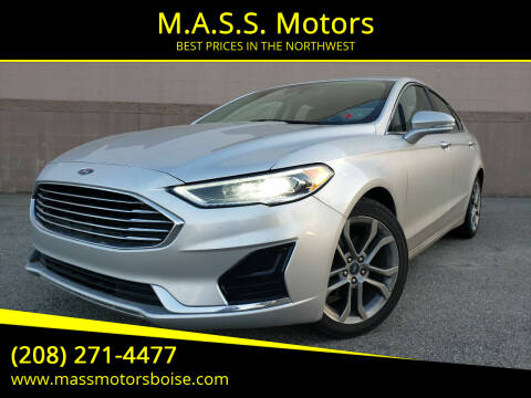 2019 Ford Fusion for sale at M.A.S.S. Motors in Boise ID