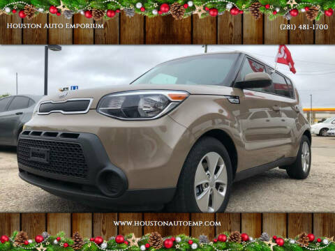 2015 Kia Soul for sale at Houston Auto Emporium in Houston TX
