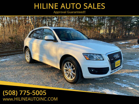 2012 Audi Q5 for sale at HILINE AUTO SALES in Hyannis MA