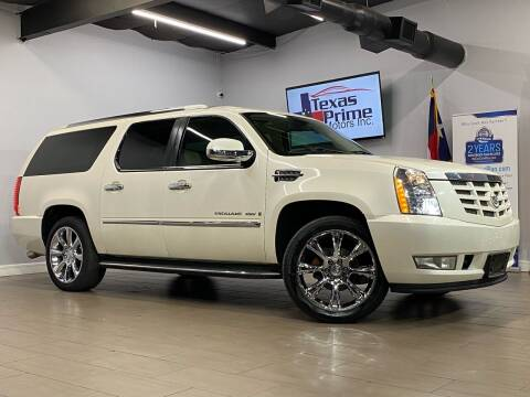 2008 Cadillac Escalade ESV for sale at Texas Prime Motors in Houston TX