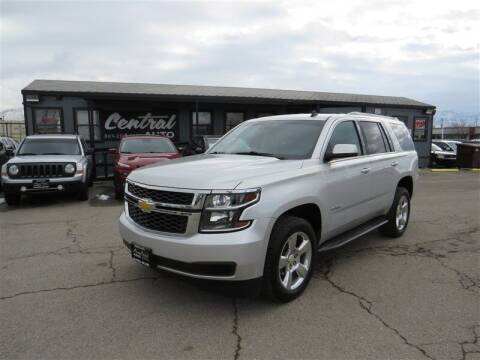 2015 Chevrolet Tahoe for sale at Central Auto in South Salt Lake UT
