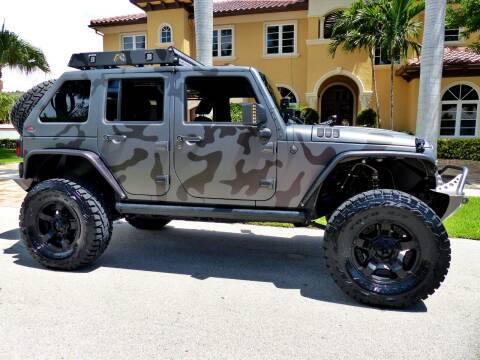 2015 Jeep Wrangler Unlimited for sale at Lifetime Automotive Group in Pompano Beach FL