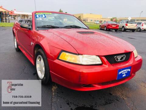 1999 Ford Mustang for sale at Transportation Center Of Western New York in Niagara Falls NY