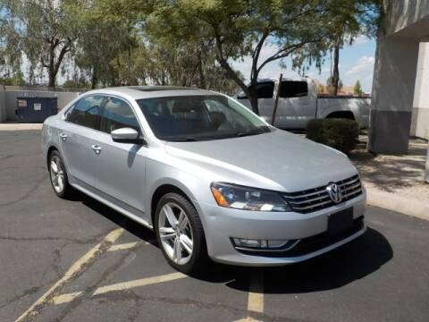 2014 Volkswagen Passat for sale at Brown & Brown Wholesale in Mesa AZ