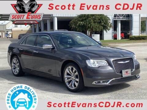2019 Chrysler 300 for sale at SCOTT EVANS CHRYSLER DODGE in Carrollton GA