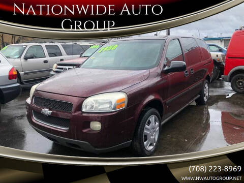2007 Chevrolet Uplander for sale at Nationwide Auto Group in Melrose Park IL