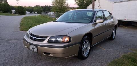 2004 Chevrolet Impala for sale at ALL AUTOS in Greer SC