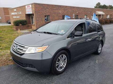 2012 Honda Odyssey for sale at ARA Auto Sales in Winston-Salem NC