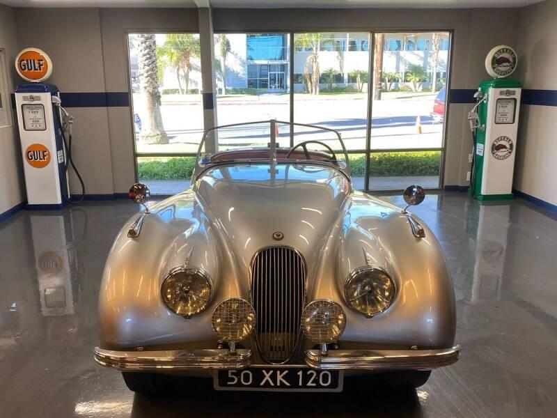 1950 Jaguar XK120 Roadster for sale at Gallery Junction in Orange CA
