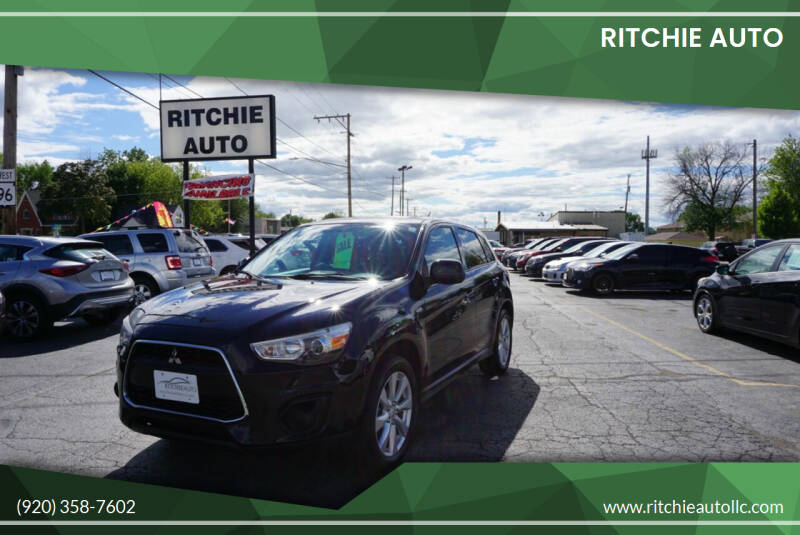 2013 Mitsubishi Outlander Sport for sale at Ritchie Auto in Appleton WI