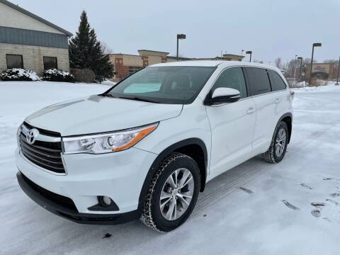 2015 Toyota Highlander for sale at ONG Auto in Farmington MN