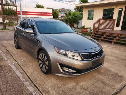 2013 Kia Optima for sale at Zora Motors in Houston TX