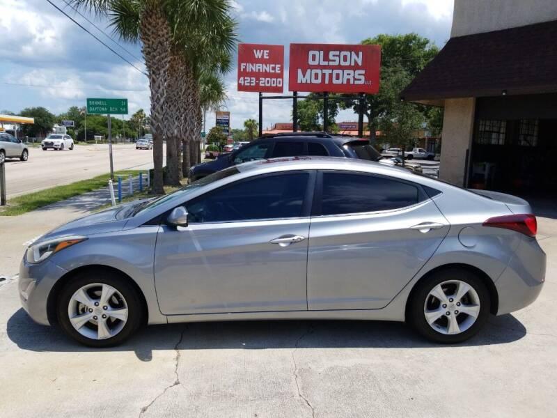 2016 Hyundai Elantra for sale at Olson Motors LLC in Saint Augustine FL