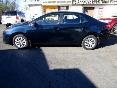 2018 Toyota Corolla for sale at American Auto Group Now in Maple Shade NJ