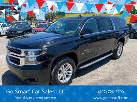 2015 Chevrolet Suburban for sale at Go Smart Car Sales LLC in Winter Garden FL