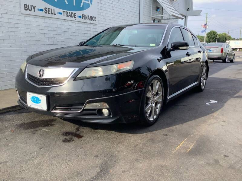 2013 Acura TL for sale at ARIA AUTO SALES INC.COM in Raleigh NC