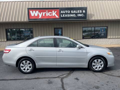 2010 Toyota Camry for sale at Wyrick Auto Sales & Leasing-Holland in Holland MI