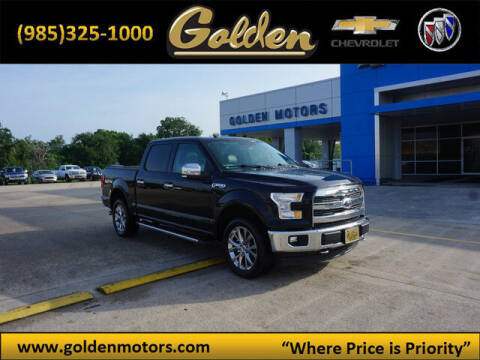 2017 Ford F-150 for sale at GOLDEN MOTORS in Cut Off LA