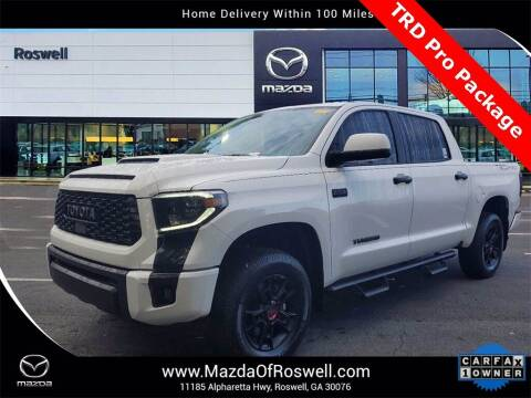 2020 Toyota Tundra for sale at Mazda Of Roswell in Roswell GA