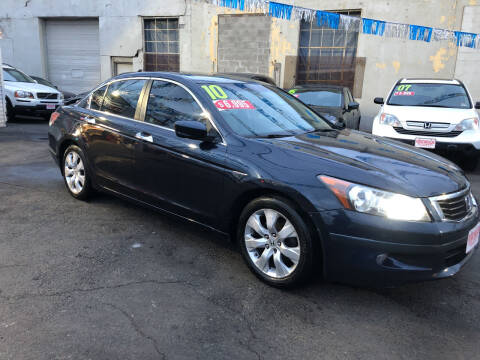 2010 Honda Accord for sale at Riverside Wholesalers 2 in Paterson NJ