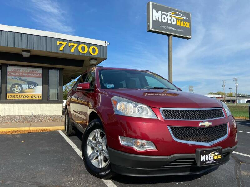 2011 Chevrolet Traverse for sale at MotoMaxx in Spring Lake Park MN