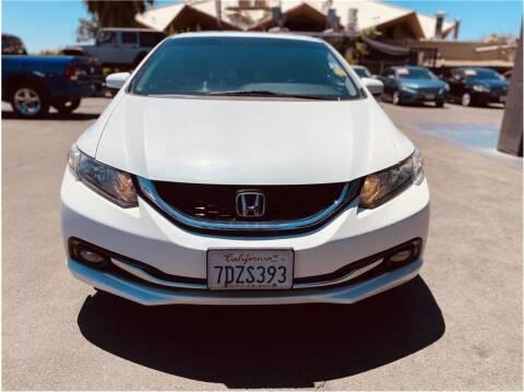 2014 Honda Civic for sale at Carros Usados Fresno in Fresno CA