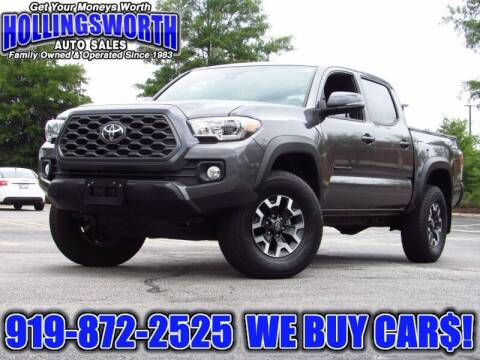2020 Toyota Tacoma for sale at Hollingsworth Auto Sales in Raleigh NC