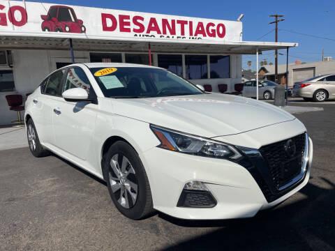 2019 Nissan Altima for sale at DESANTIAGO AUTO SALES in Yuma AZ